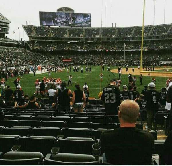 Oakland Alameda Coliseum, section: 129, row: 19