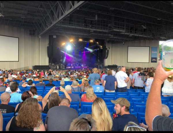 PNC Music Pavilion, section: 8, row: W, seat: 10 and 11