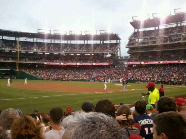 Nationals Park, section: 112, row: K, seat: 9