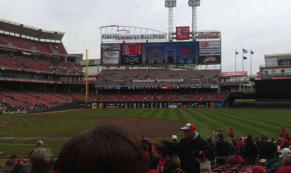 Great American Ball Park, section: 131, row: T, seat: 2