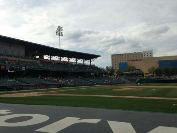 Victory Field, section: 116, row: E, seat: 10