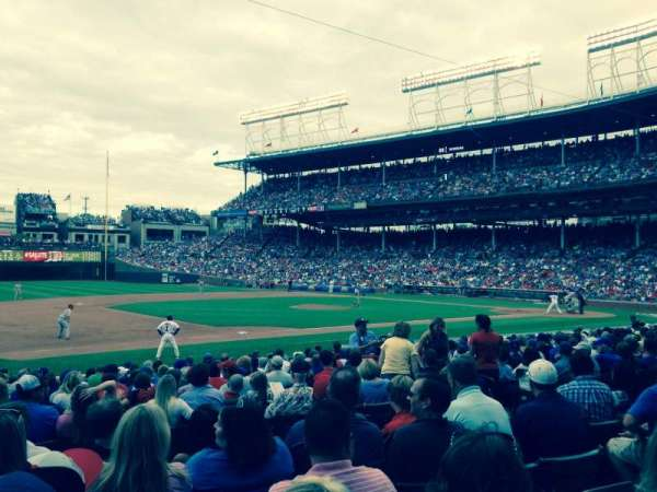 Wrigley Field, section: 107, row: 7, seat: 10