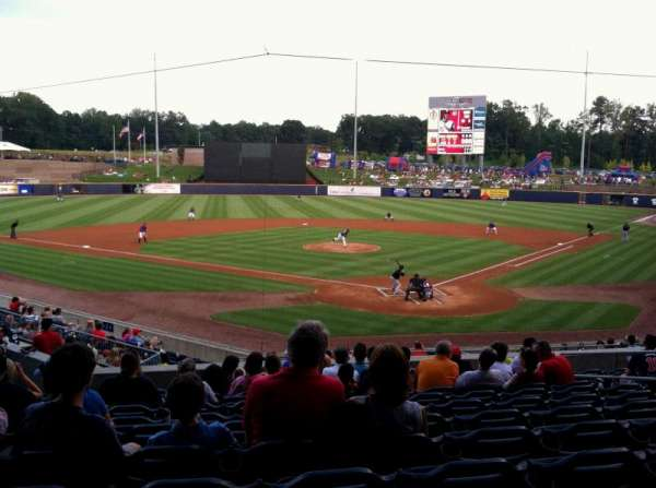Coolray Field, section: 102, row: S, seat: 9