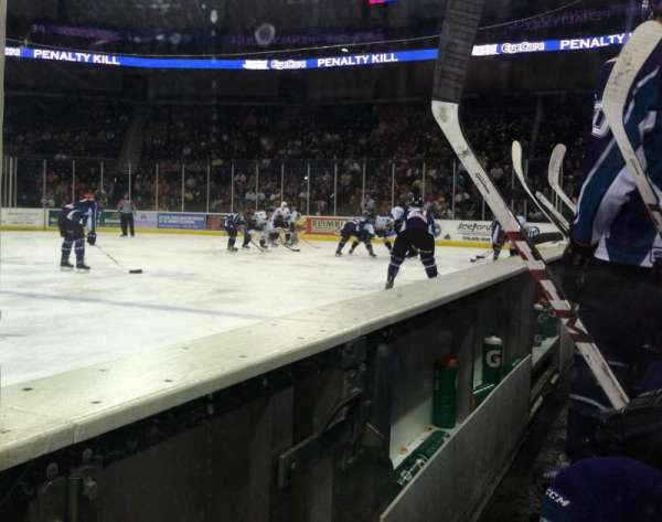 Infinite Energy Arena, section: 105 - Between the Benches, row: N/A, seat: N/A