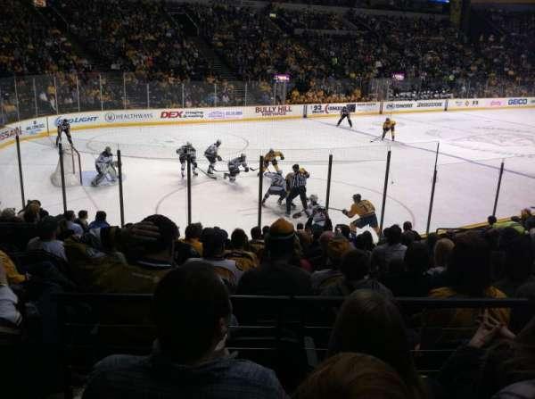 Bridgestone Arena, section: 103, row: C, seat: 15
