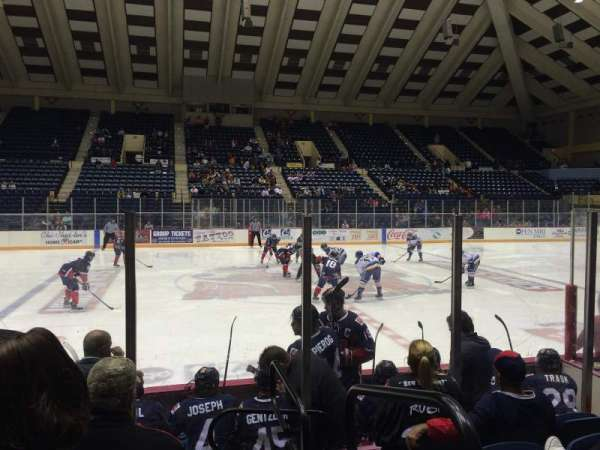 Macon Coliseum, section: 23, row: G, seat: 1
