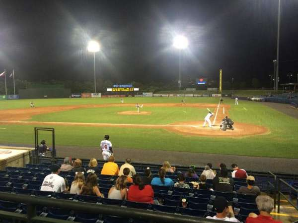 State Mutual Stadium, section: 206, row: 2, seat: 2