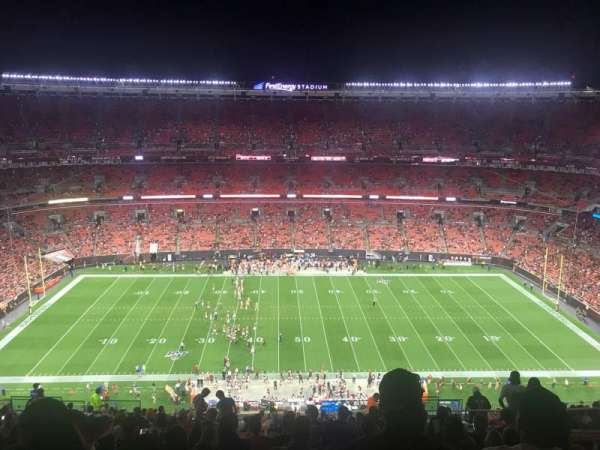 FirstEnergy Stadium, section: 508, row: 27, seat: 18