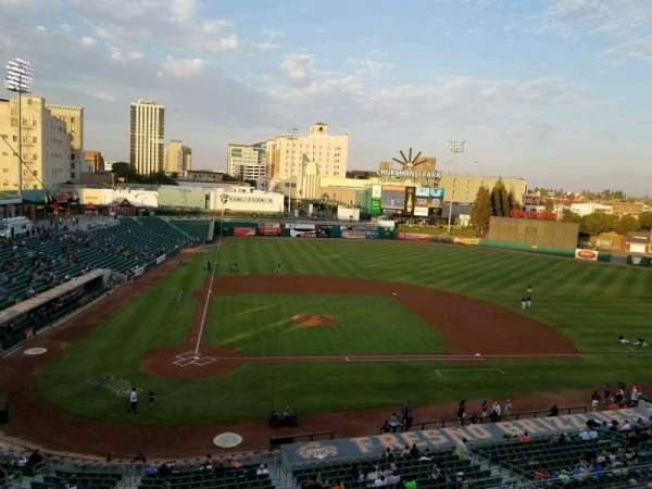 Chukchansi Park, section: Suite 19, row: 1, seat: 1