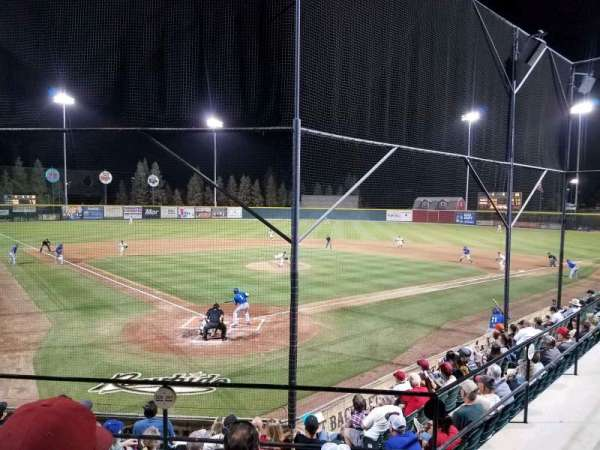 Rawhide Ballpark, section: 201, row: H, seat: 4