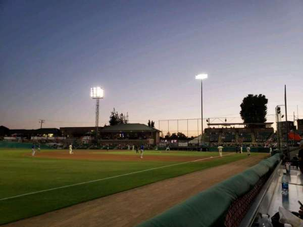 Rawhide Ballpark, section: Red Zone, row: At the Fence in LF