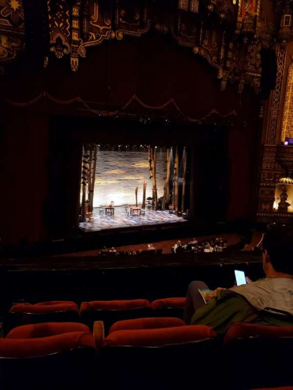 The Fabulous Fox Theatre (St. Louis), section: Mezzanine 3, row: DD, seat: 27