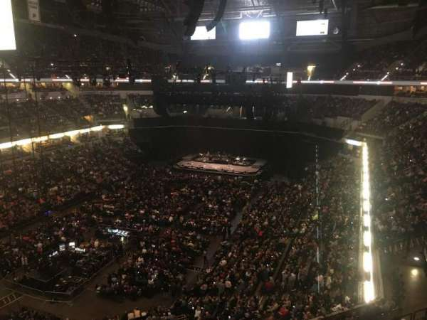 Bankers Life Fieldhouse, section: 213, row: 1, seat: 8