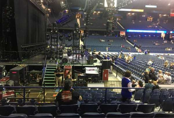 Allstate Arena, section: 104, row: F, seat: 5