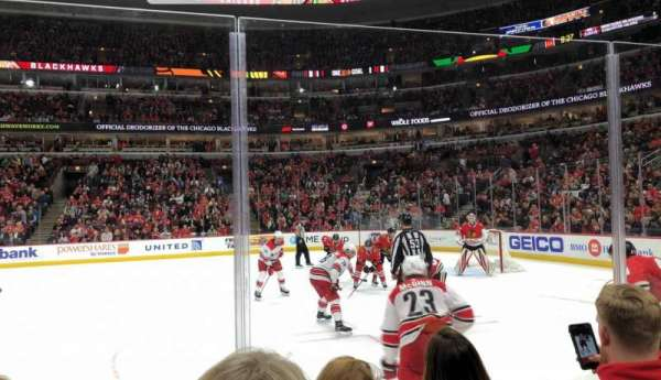 United Center, section: 110, row: 3, seat: 9