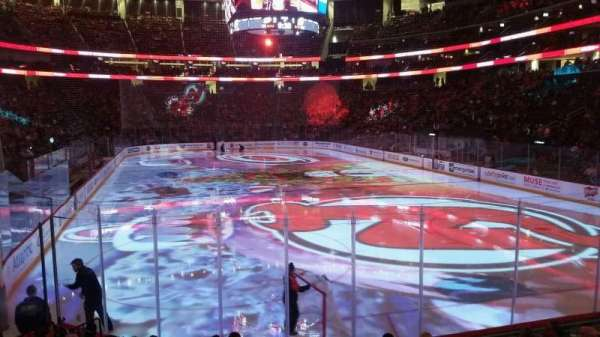 Prudential Center, section: 13, row: 9, seat: 8
