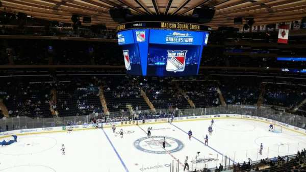 Madison Square Garden, section: 223, row: 4, seat: 3
