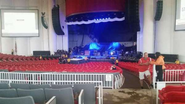 PNC Bank Arts Center, section: 201, row: F, seat: 2
