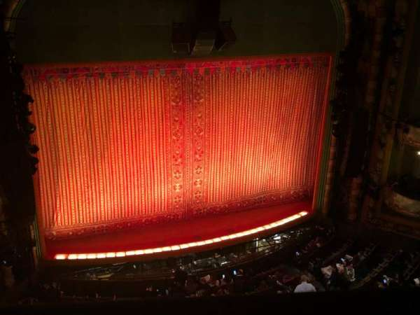New Amsterdam Theatre, section: Balcony L, row: A, seat: 5