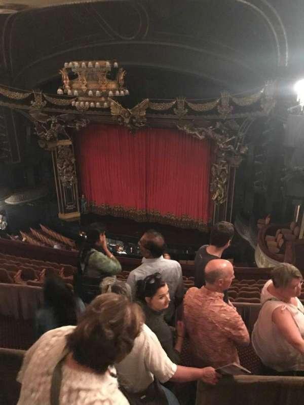 Majestic Theatre, section: Rear Mezzanine R, row: C, seat: 2