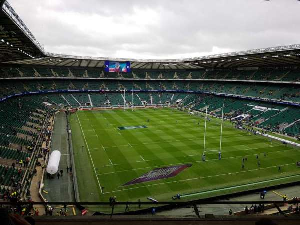 Twickenham Stadium, section: U23, row: E, seat: 222