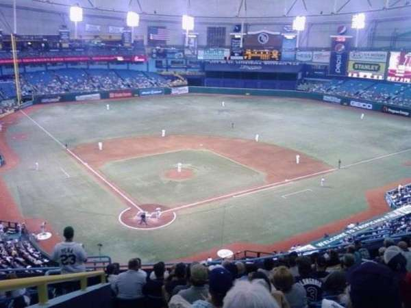 Tropicana Field, section: 300, row: Y, seat: 14