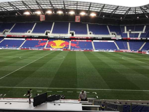 Red Bull Arena (New Jersey), section: 109, row: 14, seat: 3