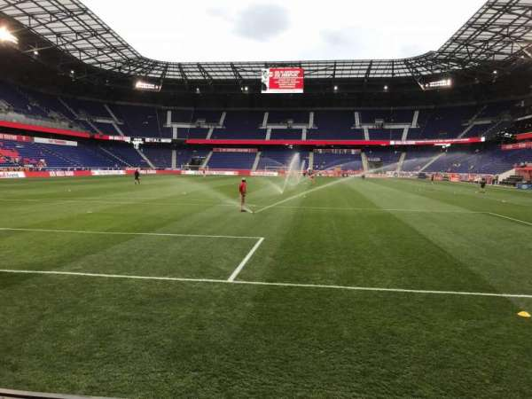 Red Bull Arena (New Jersey), section: 117, row: 1, seat: 18