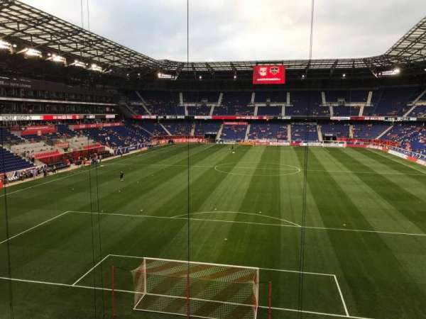 Red Bull Arena, section: 201, row: 1, seat: 1