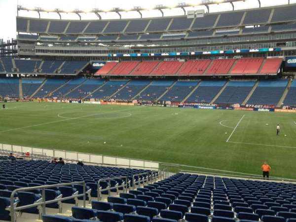 Gillette Stadium, section: 127, row: 24, seat: 13