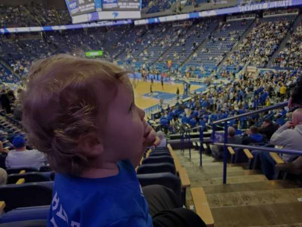 Rupp Arena, section: 44, row: T, seat: 1