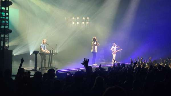 Toyota Oakdale Theatre, section: 104, row: R, seat: 12