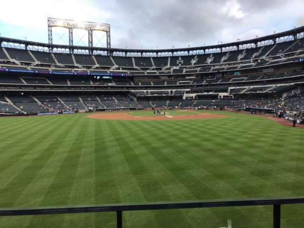 Citi Field, section: 136, row: 1, seat: 10