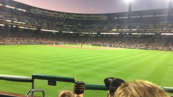 PNC Park, section: 139, row: D, seat: 10