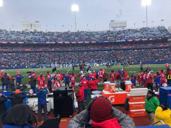 Buffalo Bills Stadium, section: 134, row: 5, seat: 5