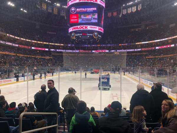 KeyBank Center, section: 122, row: 10, seat: 25