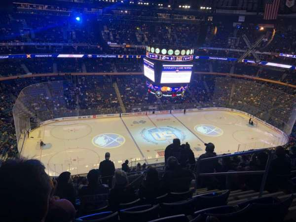 KeyBank Center, section: 308, row: 13, seat: 6