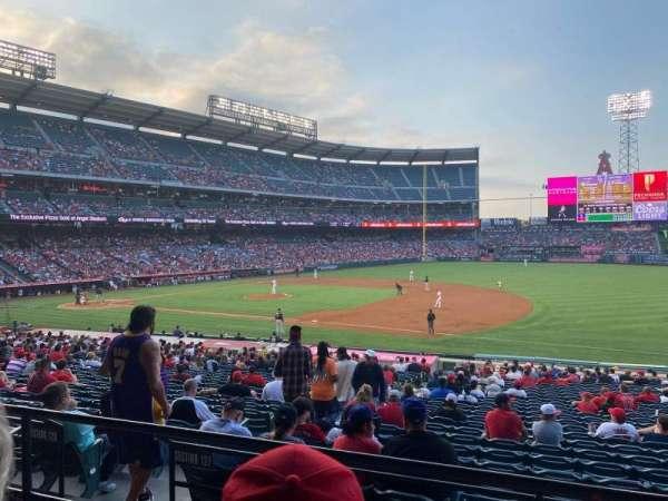 Angel Stadium, section: 225, row: C, seat: 12