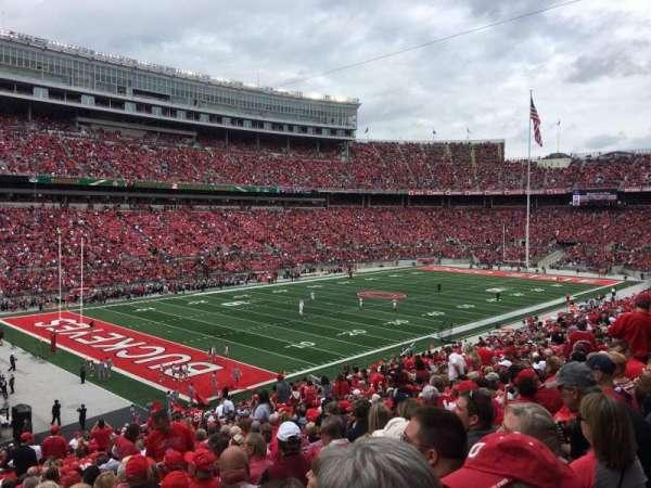 Ohio Stadium, section: 30A, row: 30, seat: 22