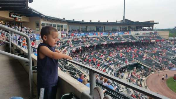 Coca-Cola Park, section: SUITE SEATS