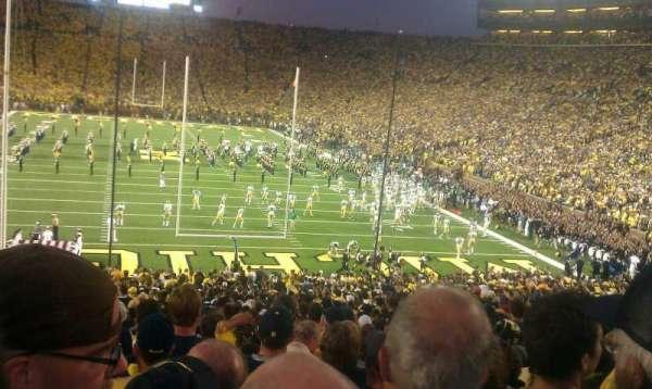 Michigan Stadium, section: 12, row: 48, seat: 26