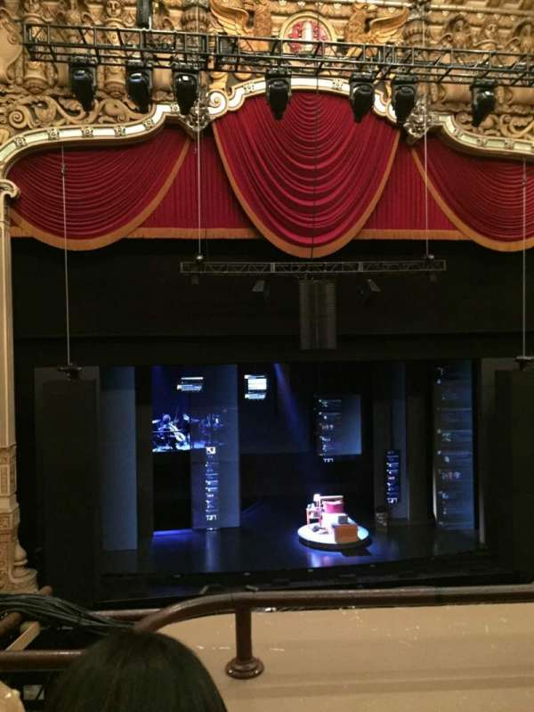 James M. Nederlander Theatre, section: Loge LC, row: B, seat: 321