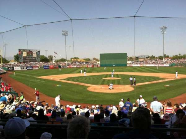 HoHoKam Stadium, section: 200, row: CC, seat: 4