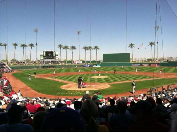 Goodyear Ballpark, section: 114, row: W, seat: 3
