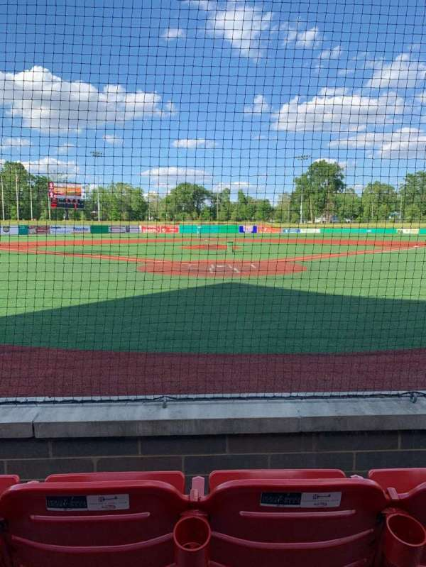 Kokomo Municipal Stadium, section: 105, row: 3, seat: 10