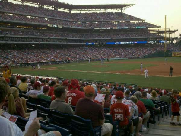 Citizens Bank Park, section: 113, row: 23, seat: 17