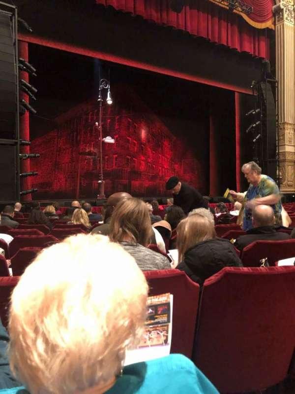 Nederlander Theatre (Chicago), section: Orchestra L, row: M, seat: 15
