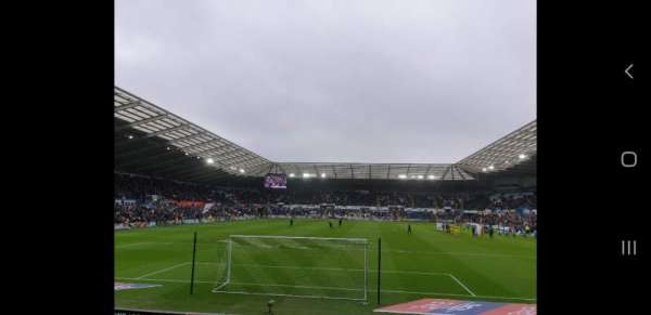 Liberty Stadium, section: North Stand Lower 3, row: I, seat: 93