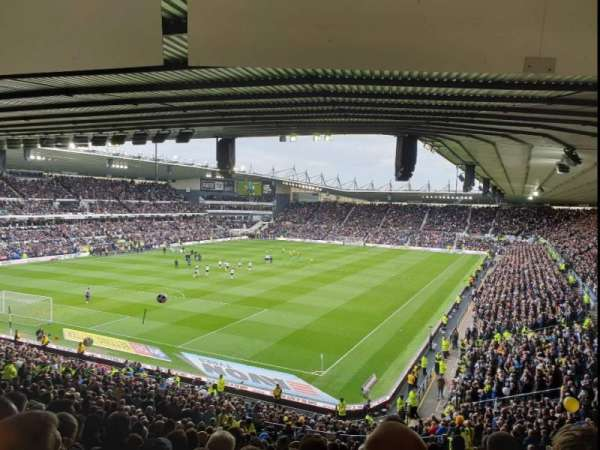 Pride Park, section: B, row: W, seat: 588