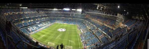 Santiago Bernabéu Stadium, section: 626, row: 012, seat: 007